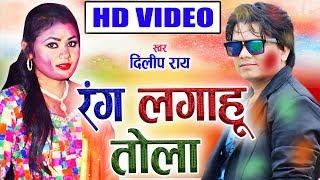 दिलीप राय | Cg Holi Song |  रंग लगाहु तोला |  Chhattisgarhi Faag Geet | HD Video 2019 | AVM-STUDIO