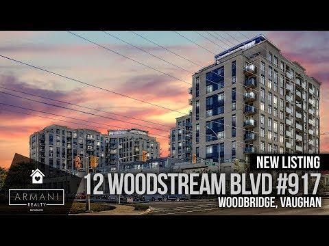SOLD! 12 Woodstream Blvd #917 In Woodbridge, Vaughan (Toronto Ontario, Canada)