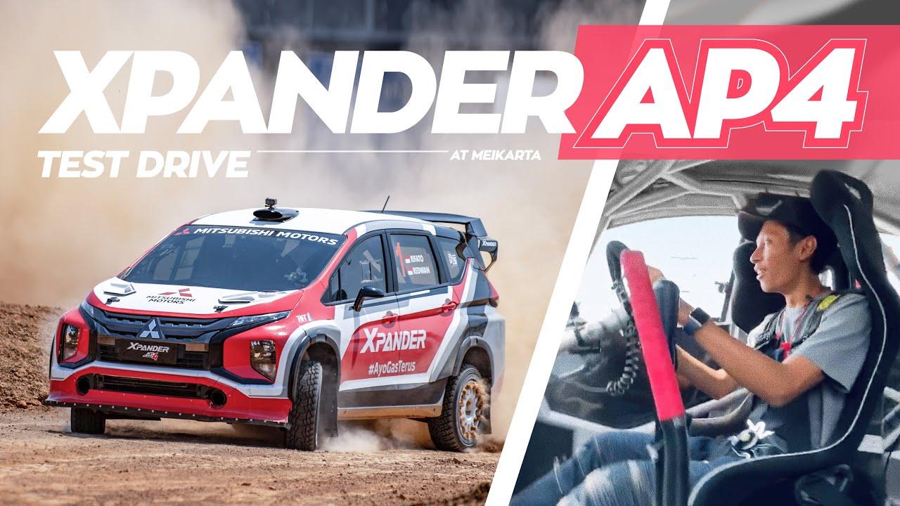 Dipo Ziko Ikutan Rally? | Test Drive Xpander AP4!