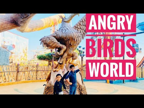 ANGRY BIRDS WORLD DOHA FESTIVAL CITY|Best Theme Park in Qatar |Slingshot In Doha,Qatar |Shayaan Broz