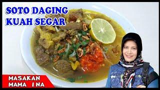 Download resep soto daging kuah segar special sedap mantap mudah enak banget