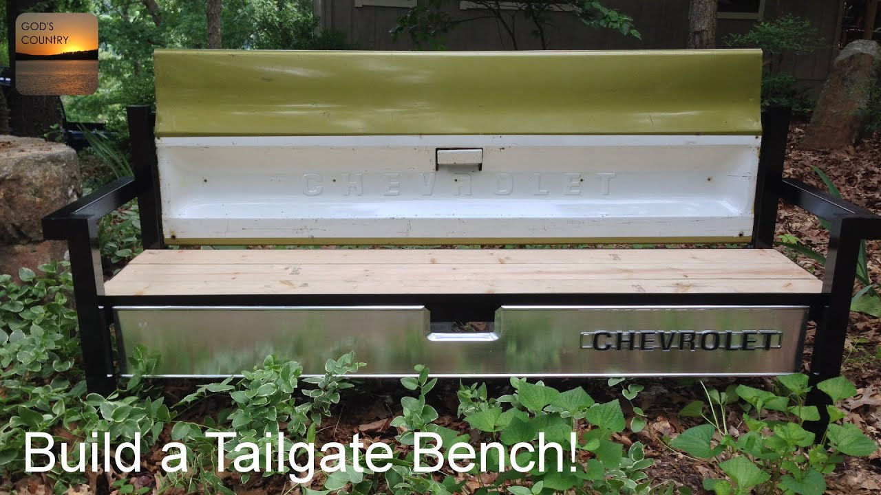Build A Tailgate Bench