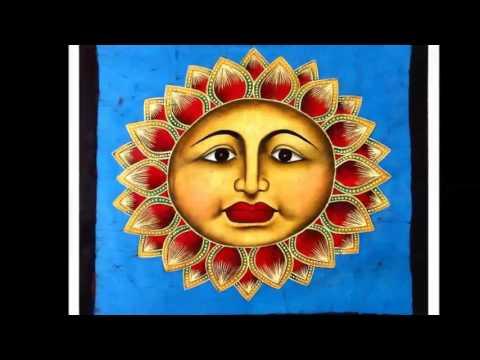 Batik Paintings of India   Ganges India