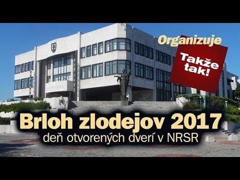 Pozvánka na Brloh zlodejov 1.September 2017 - den otvorených dverí v NRSR