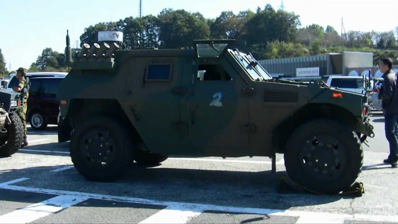 JGSDF Komatsu Light Armored Vehicle