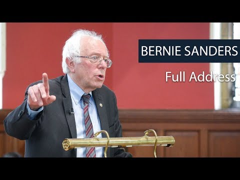 Senator Bernie Sanders | Full Address | Oxford Union