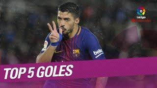 TOP 5 Goles Jornada 19 LaLiga Santander 20172018