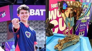 WORLD CUP WINNING BUG -YOUR INCREDIBLE VICTORY- (FULL GAME)*BEST FORTNITE PLAYER*