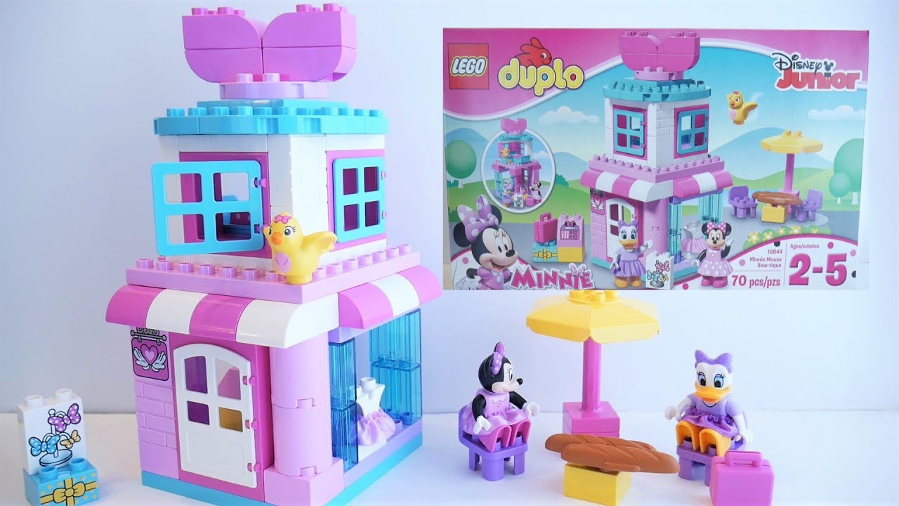 Minnie Mouse Bow Tique 10844 Lego Duplo Disney Junior Unboxing