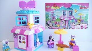 Minnie Mouse Bow-tique 10844 - LEGO DUPLO Disney Junior Unboxing | 2017 LEGO Preschool Building Toy