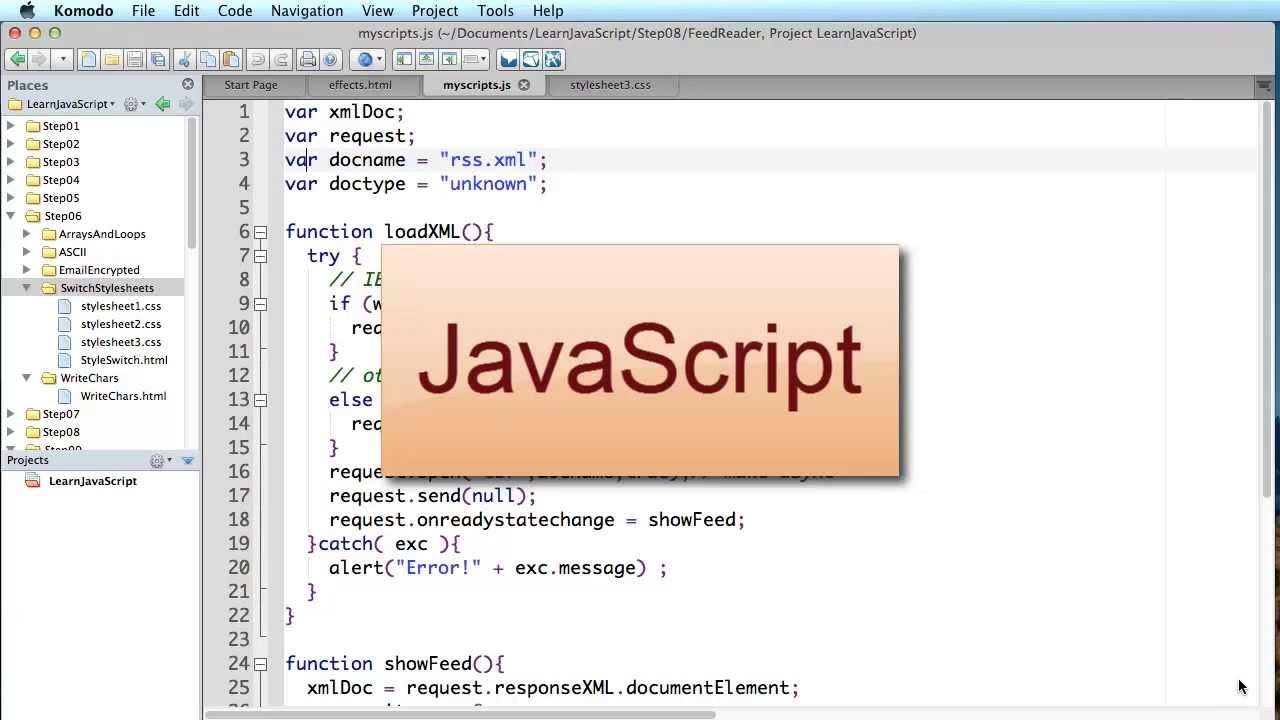 Anatomy Of A Web Page Html Css Javascript Youtube