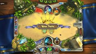 Hearthstone - Arena Agro Shaman vs Mage (full game)