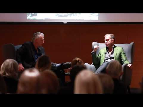 Alexander S. C. Rower and Jed Perl in conversation at the Cantor Arts Center at Stanford University