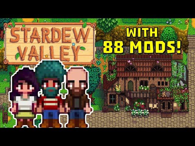 Stardew Valley - 80+ mods - Multiplayer