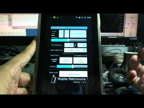 Android App: Mobile Metronome [Mini Review] [HD]