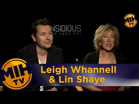 Leigh Whannell & Lin Shaye Insidious: The Last Key Intervivew
