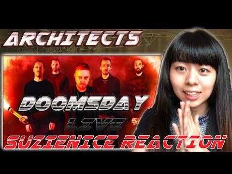 First time hearing Architects - Doomsday Live at Alexandra Palace (Eng Sub.) | SuzieNice Reaction