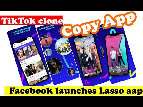 Facebook launches Lasso aap for Android / iOS - TikTok clone Mp3