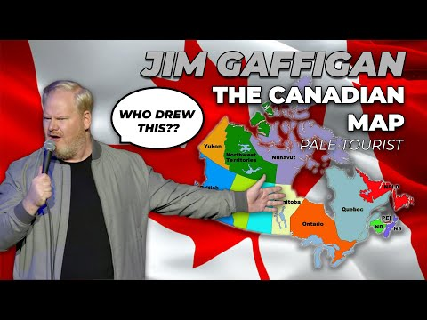 'Who Drew The Map of Canada??' The Pale Tourist (NEW MATERIAL) Jim Gaffigan Stand Up