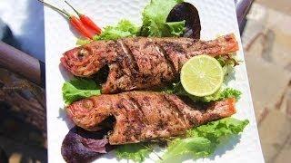 Simple Oven Jerk Fish Recipe.