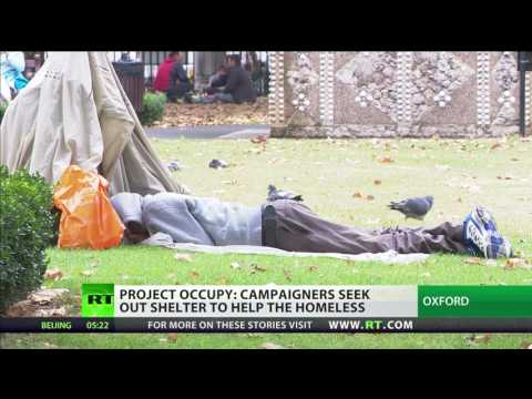 """""""We have everything now"""" - homeless at Iffey House Oxford"""