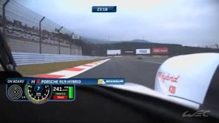 FIAWEC 6hFuji Porsche 919 Hybrid LMP1 #14 #20 Onboard lap