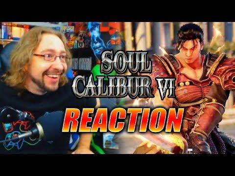 MAX REACTS: Soul Calibur 6 - Reveal Trailer