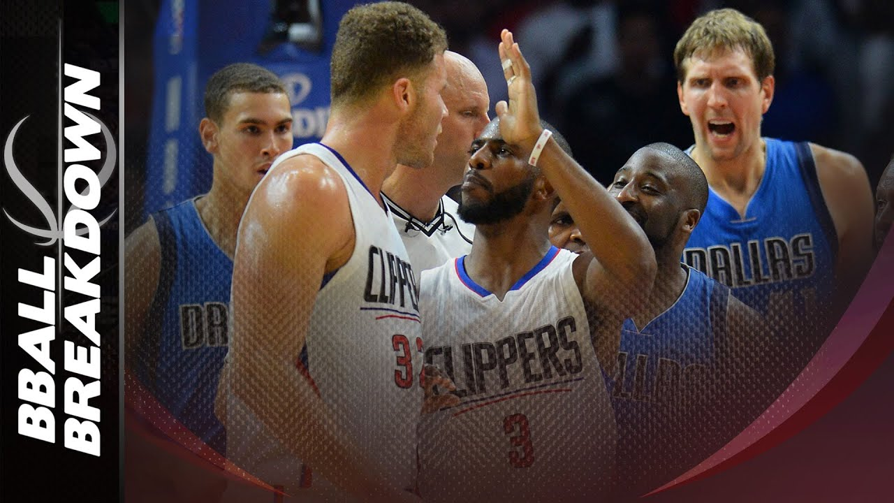 How The Clippers Scored In Halfcourt To Beat The Mavericks