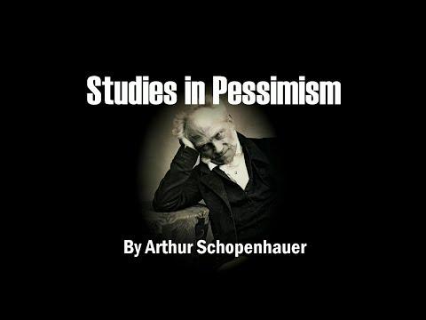 Arthur Schopenhauer - On the Vanity of Existence