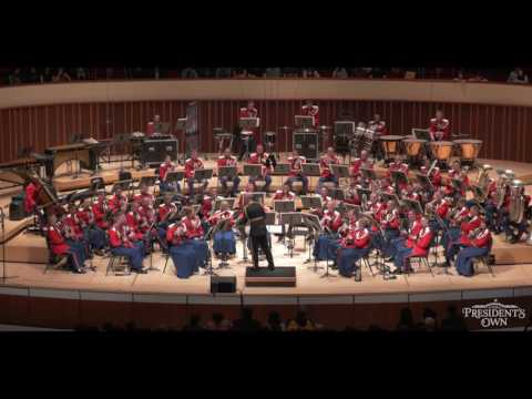 "HOLST The Planets: Mars - ""The President's Own"" U.S. Marine Band - Tour 2016"