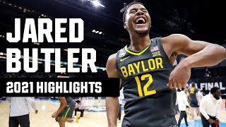 Jared Butler 2021 NCAA tournament highlights | Final Four Most Outstanding Player