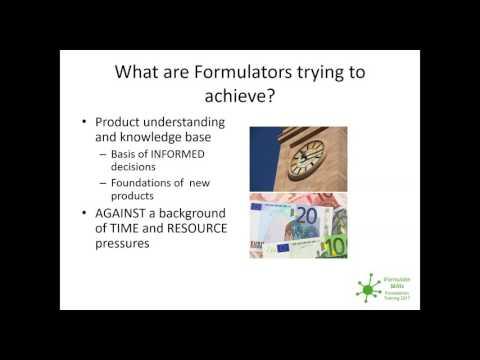 iFormulate Introduces...Process Control and Formulation with David Hood and David