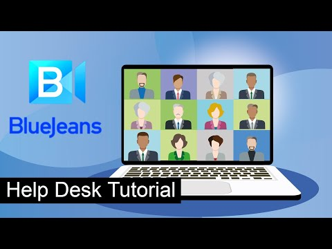 Help Desk Tutorial, Configuring BlueJeans for Meetings, Jira Service Desk Ticketing System