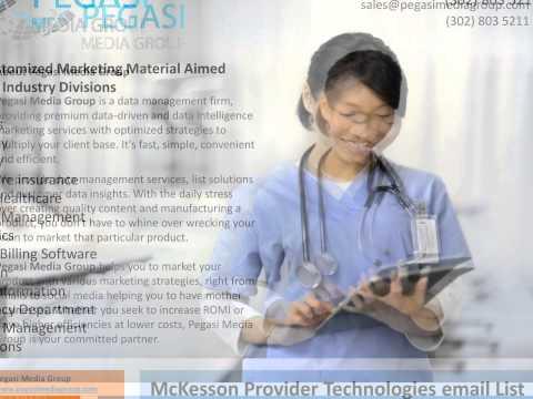 McKesson Provider Technologies email List