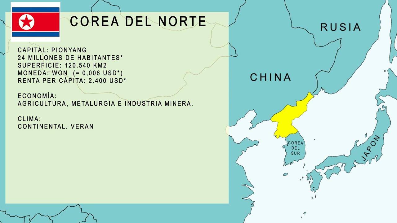 D nde est corea del norte youtube for Donde se encuentra el marmol