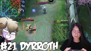 A-Z Hero Challenge | Dyrroth until I Win in Rank!