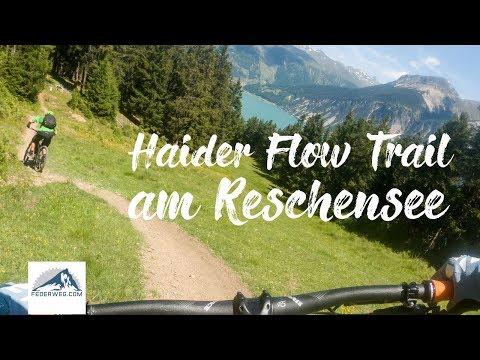 Haider Flow Trail (Nr. 91) - 3 Länder Trails Reschensee