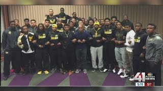 "Missouri football coach Gary Pinkel: ""Mizzou Family stands as one"""