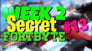 FORTNITE Week 2 SEASON 9 secret battle banner ( NEW* fortbyte LOCATION )