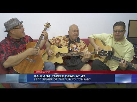 Kaulana Pakele, Lead Singer Of Mana'o Company, Dies At 47