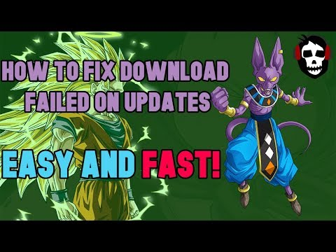 Dokkan Battle Download Failed fix for updates, fast and easy![Root]