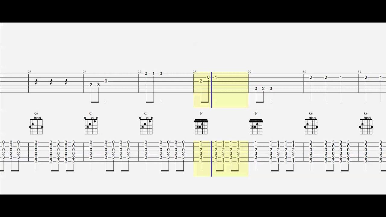 Guitar Tab Guitar Chords Silver Bells Duet Play Along Youtube