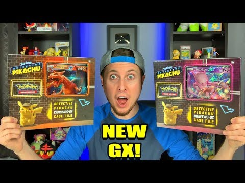 NEW POKEMON CARD DETECTIVE PIKACHU CASE FILE Box Opening W/ Charizard & Mewtwo GX!
