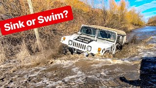 4X4 HUMMER H1- BEST TIME OFFROAD WATER & MUD! *ALEX CHOI & STEVESPOV*