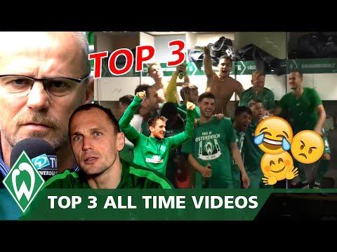 TOP 3 All Time Videos | SV Werder Bremen Official