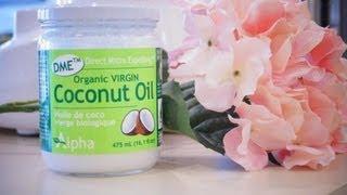 DIY : masque hydratant à l'huile de noix de coco
