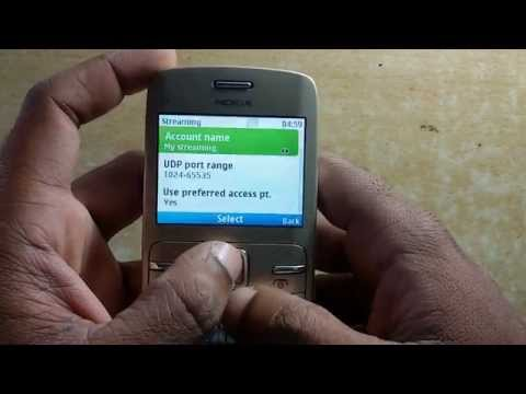 Set Nokia  Streeming Settings for All sim access points
