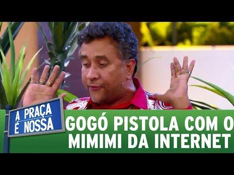 Gogó fica indiganado com o politicamente correto | A Praça É Nossa (23/11/17)