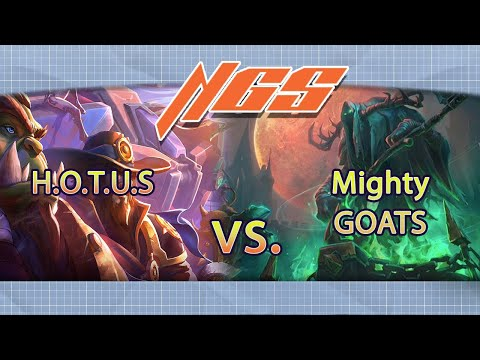 Nexus Gaming Series: Heroes of the United States vs Mighty GOATS