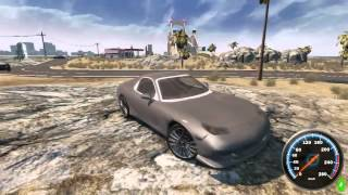 Gameplay - Ocean City: Racing Free Roam [PC] Rodando no Notebook